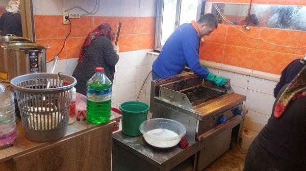 endüstriyel mutfak temizlik 3