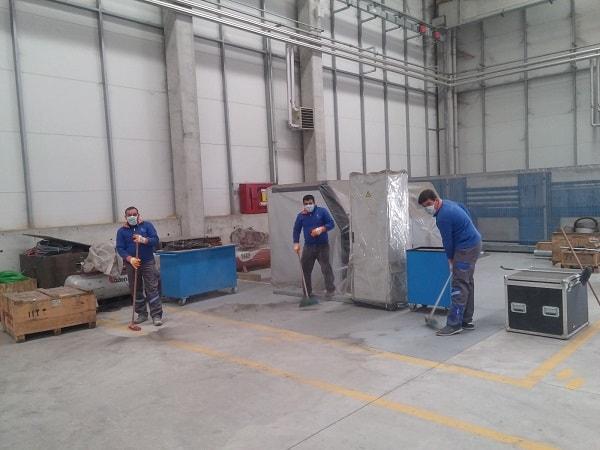 endüstriyel tesis temizliği image 1